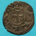 Photo numismatique  MONNAIES BARONNIALES Archevêché de LYON (XIIe siècle) Obole.