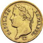 Photo numismatique  ARCHIVES VENTE 12 juin 2018 MODERNES FRANÇAISES NAPOLEON Ier, empereur (18 mai 1804- 6 avril 1814)  349- 40 francs or, Paris 1812.