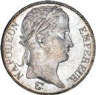 Photo numismatique  ARCHIVES VENTE 12 juin 2018 MODERNES FRANÇAISES NAPOLEON Ier, empereur (18 mai 1804- 6 avril 1814)  352- 5 francs, Bordeaux 1813.
