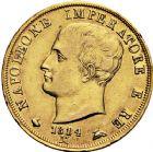 Photo numismatique  ARCHIVES VENTE 12 juin 2018 MODERNES FRANÇAISES NAPOLEON Ier, roi d'Italie (1805-1814)  358- 40 lire or, Milan 1814.