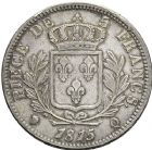Photo numismatique  ARCHIVES VENTE 12 juin 2018 MODERNES FRANÇAISES LOUIS XVIII, 1ère restauration (3 mai 1814-20 mars 1815)  360- Lot de 2 monnaies de 5 francs.