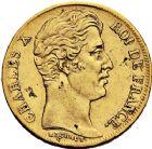 Photo numismatique  ARCHIVES VENTE 12 juin 2018 MODERNES FRANÇAISES CHARLES X (16 septembre 1824-2 août 1830)  366- 20 francs or, Paris 1830.