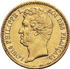 Photo numismatique  ARCHIVES VENTE 12 juin 2018 MODERNES FRANÇAISES LOUIS-PHILIPPE Ier (9 août 1830-24 février 1848)  371- 20francs or, 1831.