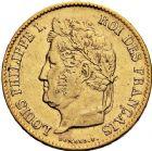 Photo numismatique  ARCHIVES VENTE 12 juin 2018 MODERNES FRANÇAISES LOUIS-PHILIPPE Ier (9 août 1830-24 février 1848)  372- 40 francs or, Paris 1834.