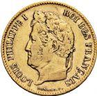 Photo numismatique  ARCHIVES VENTE 12 juin 2018 MODERNES FRANÇAISES LOUIS-PHILIPPE Ier (9 août 1830-24 février 1848)  375- 40 francs or, Paris 1838.