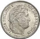 Photo numismatique  ARCHIVES VENTE 12 juin 2018 MODERNES FRANÇAISES LOUIS-PHILIPPE Ier (9 août 1830-24 février 1848)  379- 1 franc 1832, Paris 1832.