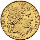Photo numismatique  ARCHIVES VENTE 12 juin 2018 MODERNES FRANÇAISES 2ème RÉPUBLIQUE (24 février 1848-2 décembre 1852)  381- 20 francs or, Paris, 1851.