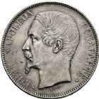 Photo numismatique  ARCHIVES VENTE 12 juin 2018 MODERNES FRANÇAISES LOUIS-NAPOLEON BONAPARTE Prince-Président (2 décembre 1851-2 décembre 1852)  384- 5 francs, Paris 1852.