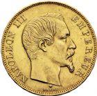 Photo numismatique  ARCHIVES VENTE 12 juin 2018 MODERNES FRANÇAISES NAPOLEON III, empereur (2 décembre 1852-1er septembre 1870)  387- 50 francs or, Strasbourg 1859.