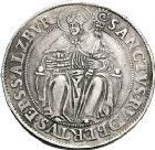 Photo numismatique  ARCHIVES VENTE 12 juin 2018 MONNAIES DU MONDE AUTRICHE SALZBOURG, Wolf Dietrich von Raitenau (1587-1612) 410- Thaler non daté.