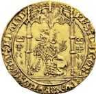 Photo numismatique  ARCHIVES VENTE 12 juin 2018 MONNAIES DU MONDE BELGIQUE BRABANT, Philippe le Bon (1430-1467) 412- Lion d'or, Malines.