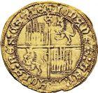 Photo numismatique  ARCHIVES VENTE 12 juin 2018 MONNAIES DU MONDE ESPAGNE JEAN II (1406-1454) 415- Dobla de la banda, Séville.