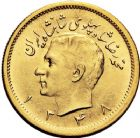 Photo numismatique  ARCHIVES VENTE 12 juin 2018 MONNAIES DU MONDE IRAN MOHAMMED REZA PAHLEVI (1942-1979) 419-  Pahlavi or, 1348 = 1969.