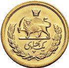 Photo numismatique  ARCHIVES VENTE 12 juin 2018 MONNAIES DU MONDE IRAN MOHAMMED REZA PAHLEVI (1942-1979) 419-  Pahlavi or, 1348 = 1969.