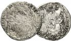 Photo numismatique  ARCHIVES VENTE 12 juin 2018 MONNAIES DU MONDE ITALIE BOLOGNE, Giovanni II Bentivoglio (1463-1506) 427- Grossone (2).