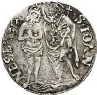 Photo numismatique  ARCHIVES VENTE 12 juin 2018 MONNAIES DU MONDE ITALIE FLORENCE, République (1198-1531) 432- Grosso de 1506, 2ème semestre.