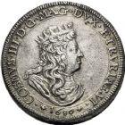 Photo numismatique  ARCHIVES VENTE 12 juin 2018 MONNAIES DU MONDE ITALIE LIVOURNE, Cosme III (1670-1723) 436- Talero 1698.