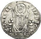 Photo numismatique  ARCHIVES VENTE 12 juin 2018 MONNAIES DU MONDE ITALIE MILAN, Henri VII empereur (1310-1313) 439- Grosso.