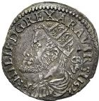 Photo numismatique  VENTE 12 juin 2018 MONNAIES DU MONDE ITALIE NAPLES, Philippe II (1556-1598) 444- Carlino.
