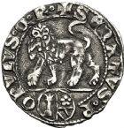 Photo numismatique  ARCHIVES VENTE 12 juin 2018 MONNAIES DU MONDE ITALIE SENAT-ROMAIN, Colonna-Orsini (fin XIIIe-XIVe siècle) 445- Gros.