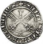 Photo numismatique  ARCHIVES VENTE 12 juin 2018 MONNAIES DU MONDE ITALIE SAINT-SIEGE, Martin V (1417-1431) 446- Carlin, Avignon.