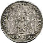 Photo numismatique  ARCHIVES VENTE 12 juin 2018 MONNAIES DU MONDE ITALIE SAINT-SIEGE, Clément VII (1523-1534) 447- Giulio, Rome.