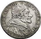Photo numismatique  ARCHIVES VENTE 12 juin 2018 MONNAIES DU MONDE ITALIE SAINT-SIEGE, Alexandre VII (1655-1667) 453- Piastre, Rome an II.