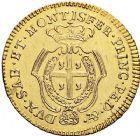 Photo numismatique  VENTE 12 juin 2018 MONNAIES DU MONDE ITALIE SAVOIE-SARDAIGNE, Charles Emmanuel III (1730-1773) 457- Dopietta d'or de 1768, Turin.