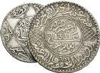 Photo numismatique  VENTE 12 juin 2018 MONNAIES DU MONDE MAROC Abdul Aziz Ier et oulay Yussef (1894-1908 et 1912-1927) 464- Lot de 3 monnaies de 10 et 5 dirhams.