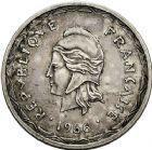 Photo numismatique  VENTE 12 juin 2018 MONNAIES DU MONDE MONACO et NELLES HEBRIDES  466- Honoré V, Décime 1838 et Essai des Nelles Hébrides, 100 francs 1966.