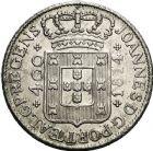 Photo numismatique  VENTE 12 juin 2018 MONNAIES DU MONDE PORTUGAL JEAN prince régent (1799-1816) 467- Lot de 3 monnaies de 400 reis, 1812, 1814 (2).