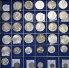 Photo numismatique  VENTE 12 juin 2018 MONNAIES DU MONDE USA - ÉTATS-UNIS d'AMÉRIQUE du NORD  469- Lot de 35 monnaies des USA en argent.