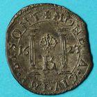 Photo numismatique  MONNAIES BARONNIALES Cité de BESANCON Monnayage au nom de CHARLES QUINT Gros de 1623.