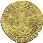 Photo numismatique  ARCHIVES VENTE 12 juin 2018 DERNIÈRE MINUTE ESPAGNE -  Ferdinand et Isabelle (1469-1504)  Double excellente, Séville