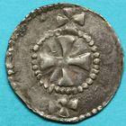 Photo numismatique  MONNAIES BARONNIALES Comté de SENS (Xe siècle) Grand denier.