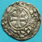 Photo numismatique  MONNAIES BARONNIALES Comté de TROYES (Xe siècle) Denier.