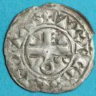 Photo numismatique  MONNAIES BARONNIALES Comté de TROYES THIBAUT II (1125-1152) Denier.