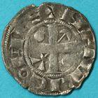 Photo numismatique  MONNAIES BARONNIALES Comté de PROVINS HENRI Ier (1152-1180) Denier.