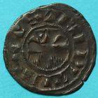 Photo numismatique  MONNAIES BARONNIALES Comté de PROVINS THIBAUT III (1197-1201) Denier.