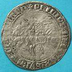 Photo numismatique  MONNAIES BARONNIALES Comté de FLANDRE PHILIPPE LE HARDI (1384-1404) Double gros à la mante.