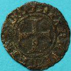 Photo numismatique  MONNAIES BARONNIALES Comté de FLANDRE PHILIPPE LE HARDI (1384-1404) Double mite.