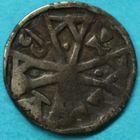 Photo numismatique  MONNAIES BARONNIALES Duché de BRABANT HENRI II ou III (1235-1248-1261) Maille de Louvain.