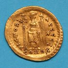 Photo numismatique  MONNAIES EMPIRE ROMAIN MARCIEN (450-457)  Solidus.