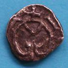 Photo numismatique  MONNAIES PEUPLES BARBARES MEROVINGIENS CITES GENILLE (Indre-et-Loire) ? Denier.