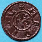 Photo numismatique  MONNAIES CAROLINGIENS CHARLEMAGNE, roi (768-800) empereur (800-814)  Denier de Milan, frappé entre 794 et 812.