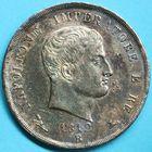 Photo numismatique  MONNAIES MODERNES FRANÇAISES NAPOLEON Ier, roi d'Italie (1805-1814)  5 lire.
