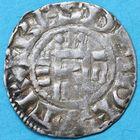 Photo numismatique  MONNAIES BARONNIALES Vicomté d'ORLEANS ISEMBARD évêque (1033-1063) Denier.