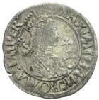 Photo numismatique  MONNAIES MONNAIES DU MONDE ALLEMAGNE NORDLINGEN, Maximilien Ier (1493-1519) 10 kreuzer de 1518.