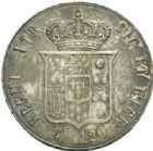 Photo numismatique  MONNAIES MONNAIES DU MONDE ITALIE NAPLES et DEUX-SICILES, François II de Bourbon (1859-1860) Piastre de 120 grana.