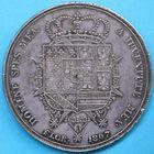 Photo numismatique  MONNAIES MONNAIES DU MONDE ITALIE ETRURIE, Charles-Louis de Bourbon, régence de sa mère (1803-1807) Dena de 1807.